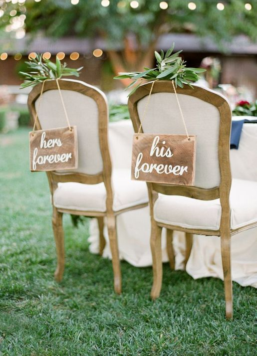 her-forever-and-his-forever-wedding-chair-signs