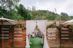 An Insanely Gorgeous Natural & Al Fresco Outdoor Wedding