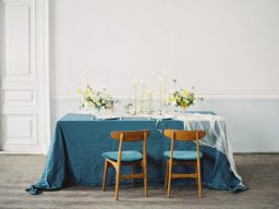 This Ethereal Teal & Marigold Shoot will Steal Your Heart