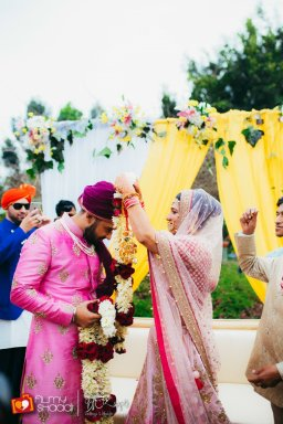 This Fun & Quirky Indian Wedding will Shower You with Happiness