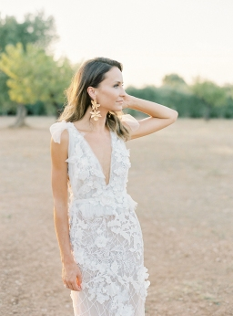 Intimate Puglia Alfresco Wedding with Couture Tel Aviv Bridal Gown