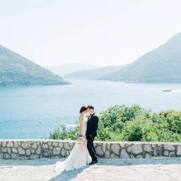 Intimate Romantic Summer Wedding at Montenegro