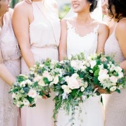 A Sunny Tropical Blush Wedding in Vietnam