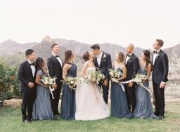 The Most Gorgeous Outdoor Al Fresco Wedding in Malibu