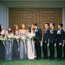Romantic Urban Wedding in the Heart of Bangkok