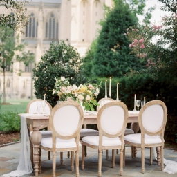 Muted Yellow Regal Styled Shoot Post in Time for the Royal Wedding