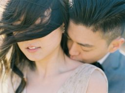 A Relaxed Outdoor Engagement Shoot Captures Genuine Moments