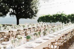 Romantic Countryside Outdoor Wedding in Tuscany
