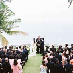 This Black Tie Wedding Affair in Bali Will Leave you Speechless