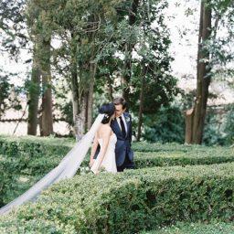 Chic and Minimal Tuscany Destination Wedding