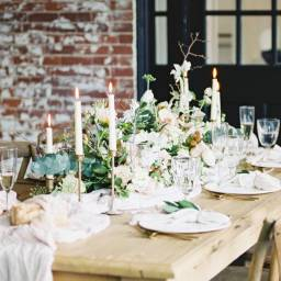 Gorgeous Neutral Styled Shoot at Ilges House