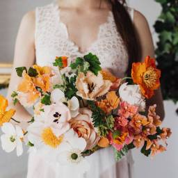 Romantic Ballerina Inspired Styled Shoot with Paper Flowers