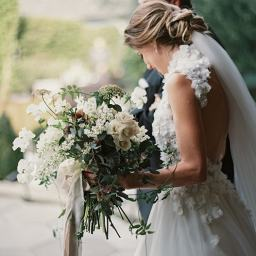 The Most Romantic Outdoor Wedding with Lush Florals