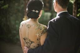 Elegant Organic Wedding in a Historic Building
