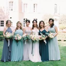 Laid Back Romantic Chateau Wedding