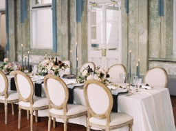 This Elegant Wedding Inspiration in a Historic Building is Timeless