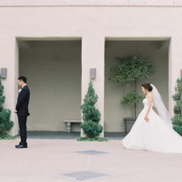 A Bride and Groom Private Vow in This Beautiful California Wedding