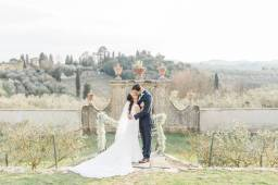 Stunning Multicultural Wedding Destination in Florence
