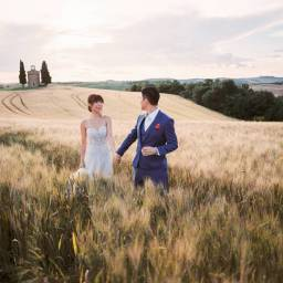 Bernice and Kenneth   Romantic Pre-Wedding Photoshoot in Tuscany